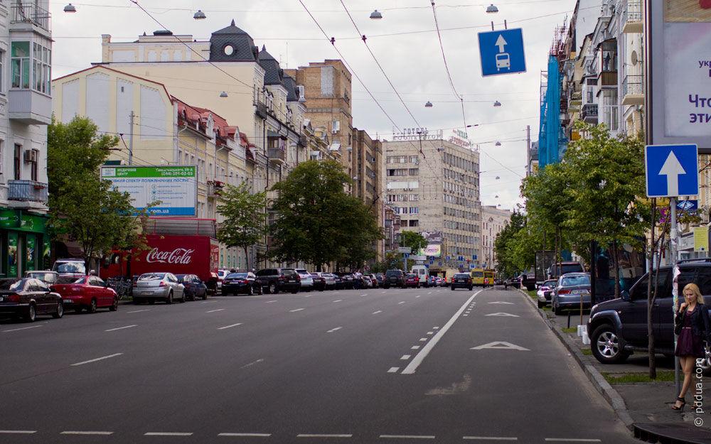Фотографія 1, Знак 5.11 Смуга для руху маршрутних транспортних засобів